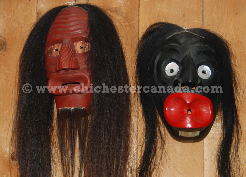 Native American Made Masks Iroquois False Face Masks